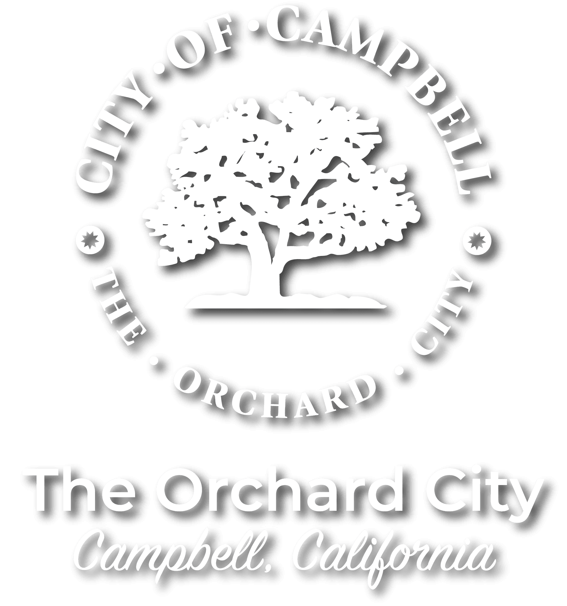 City Seal The Orchard City Campbell California