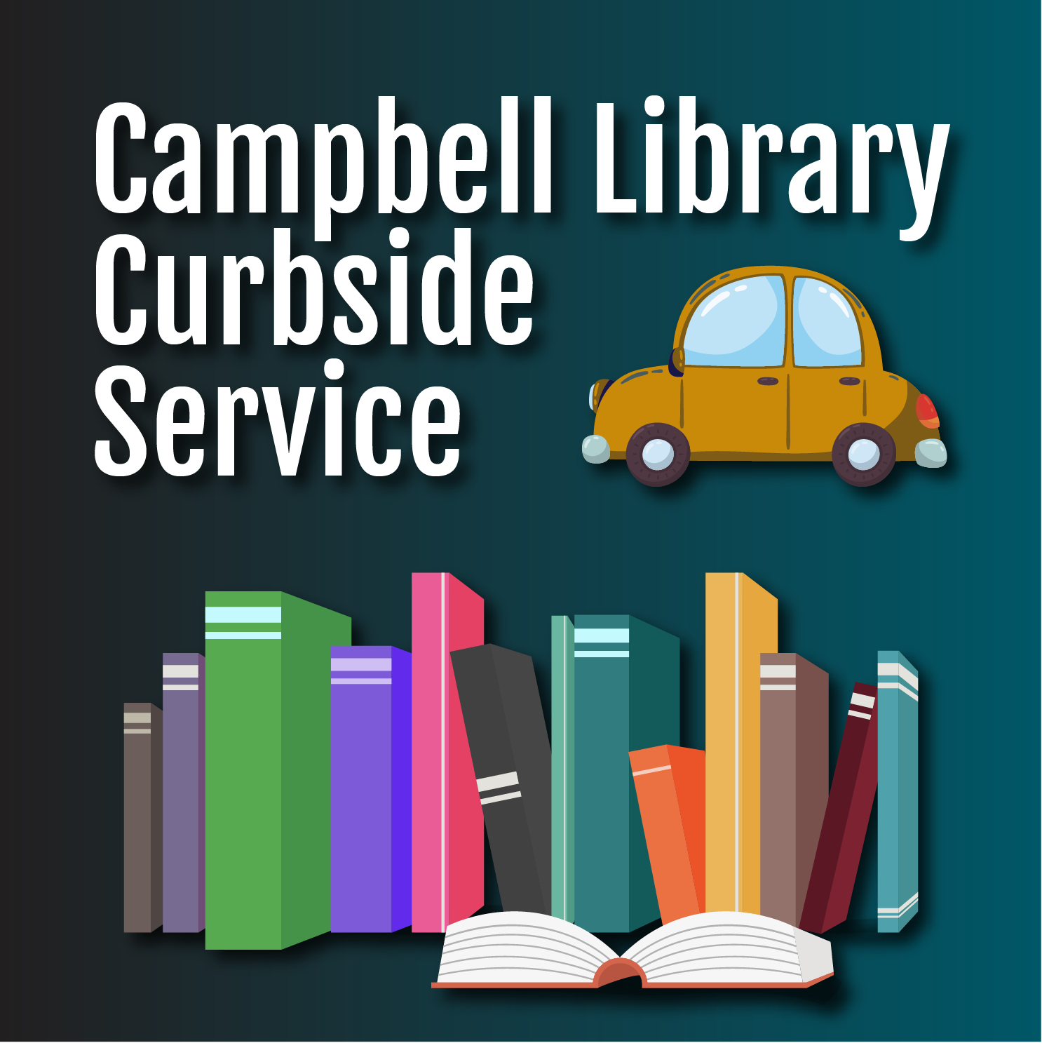 Campbell Library curbside service