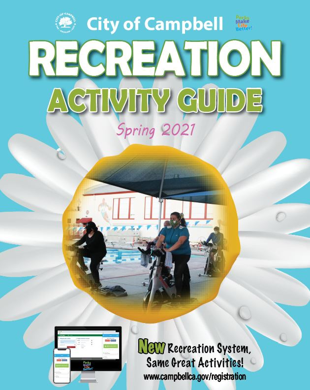 Front Cover of Spring 2021 Recreation Activity Guide