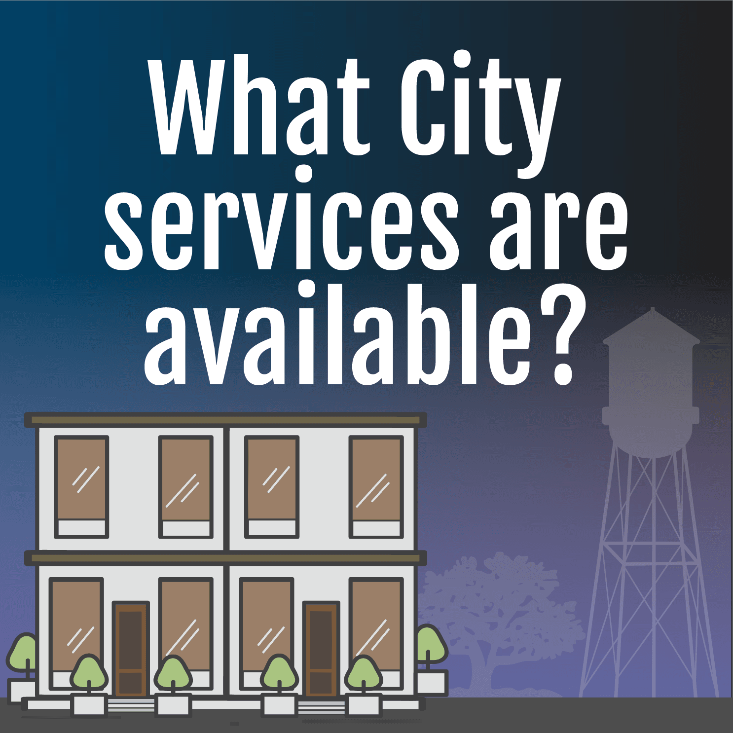 What City services are available during the pandemic?