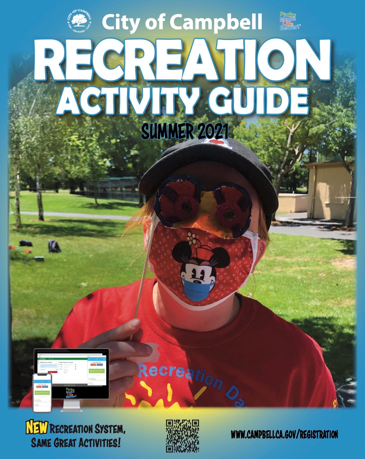 Summer 2021 Activity Guide Cover graphic image
