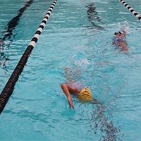 Swim Lessons offered to adults ages 15+ years at the Campbell Community Center pool